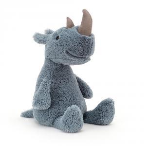 Jellycat - RUMP3R - Peluche rhinocéros Rumpa - l = 15 x H = 30 cm (457466)