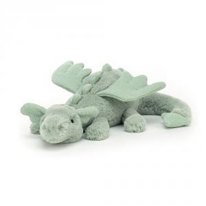 Jellycat - SAGE6DDL - Peluche dragon Sage Little - l = 26 x H = 7 cm (457476)