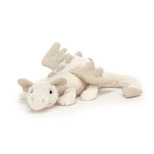 Jellycat - SNW6DDL - Peluche dragon Snow Little - l = 26 x H = 7 cm (457478)