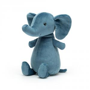 Jellycat - WOD3E - Peluche elephant Woddletot - l = 10 x H = 23 cm (457542)