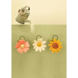 Jellycat - FLEU4DJ - Anneau peluche fleur pâquerette  Fleury - l = 14 x H = 27 cm (457568)