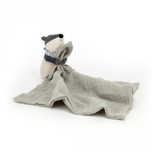 Jellycat - RAMS4BA - Little Rambler Badger Soother (457592)