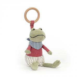 Jellycat - RAMR4FR - Little Rambler Frog Rattle (457598)