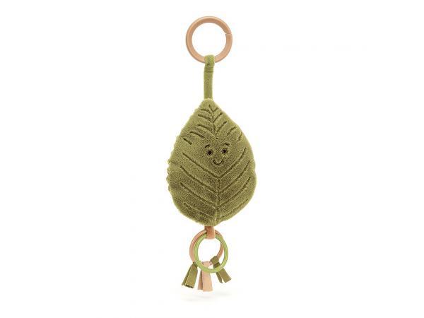 Woodland beech leaf ring toy