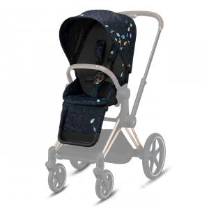 Cybex - 521000025 - Habillage de siège Priam Jewels of Nature-dark blue (457612)
