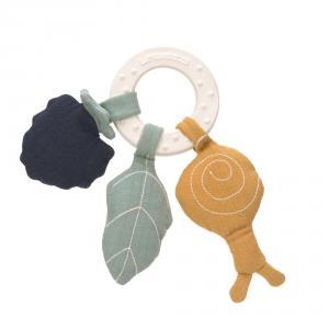 Lassig - 1313019758 - Anneau de dentition en caoutchouc naturel Papillon (457640)