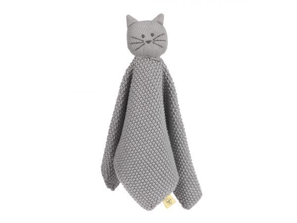 Doudou tricoté little chums chat
