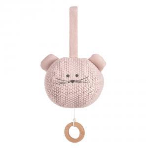 Lassig - 1313014725 - Peluche musicale tricotée Little Chums Souris (457660)