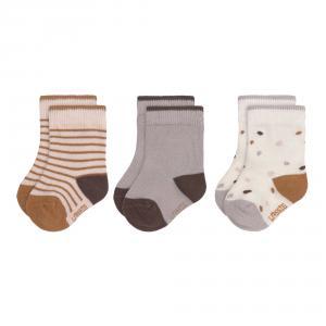 Lassig - 1532003842-19 - Lot de 3 chaussettes Tiny Farmer lilas, Taille: 19-23 (457714)