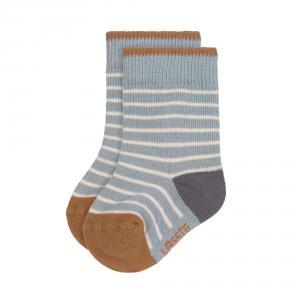 Lassig - 1532003499-15 - Lot de 3 chaussettes Tiny Farmer bleu, Taille: 15-19 (457718)