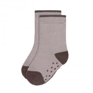 Lassig - 1532002842-27 - Lot de 2 chaussettes antidérapantes Tiny Farmer lilas, Taille: 27-31 (457726)