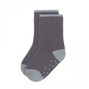 Lassig - 1532002499-19 - Lot de 2 chaussettes antidérapantes Tiny Farmer bleu, Taille: 19-23 (457728)