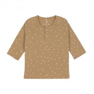 Lassig - 1531012838-80 - T-Shirt manches longues Pointillés curry, 74/80, 7-12 mois (457880)
