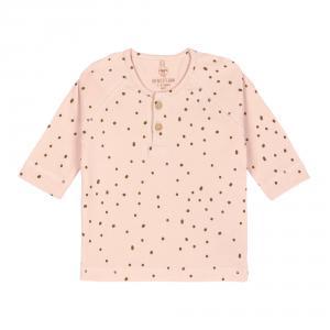 Lassig - 1531012772-80 - T-Shirt manches longues Pointillés rose, 74/80, 7-12 mois (457884)