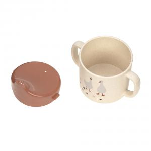 Lassig - 1310066842 - Tasse d´aprentissage Tiny Farmer Mouton et Oie nature (458126)