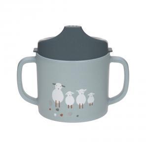Lassig - 1310066841 - Tasse d´aprentissage Tiny Farmer Mouton et Oie bleu (458128)