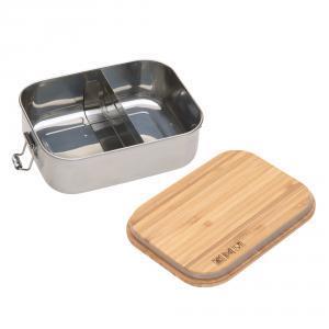 Lassig - 1210059964 - Boîte à goûter, Lunch box inox bambou Garden Explorer (458236)