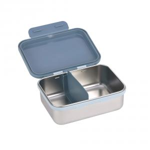 Lassig - 1210029496 - Boîte à goûter, Lunch box inox Adventure Tracteur (458244)