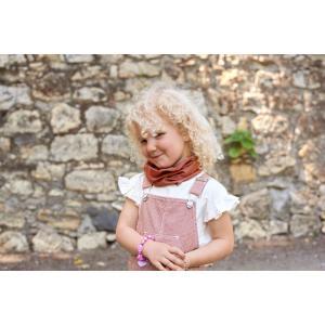 Lassig - 1209003608 - Masque enfant à pois bois de rose (458262)