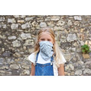 Lassig - 1209003201 - Masque enfant à pois gris (458264)