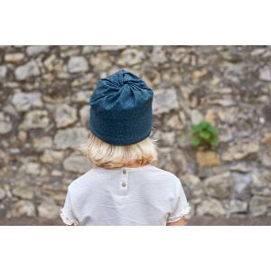 Lassig - 1209003400 - Masque enfant à pois bleu (458266)