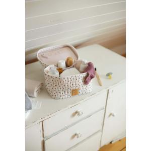 Lassig - 1106018336 - Vanity pour bébé nomade Fleurs blanc (458344)