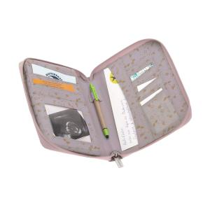 Lassig - 1106010773 - Pochette carnet de santé Fleurs Lilas (458356)