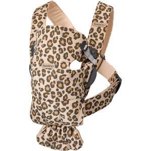 Babybjorn - 021075 - Porte-bébé Mini coton Beige Léopard (458376)