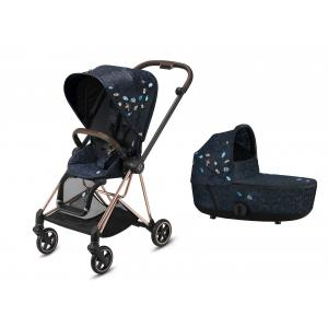 Cybex - BU525 - Pack poussette Mios et nacelle Jewels of Nature (458384)
