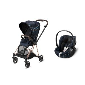Cybex - BU526 - Duo poussette Mios et siège auto Cloud Z I-size Jewels of Nature (458386)