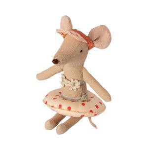 Maileg - 11-1402-01 - Bouée pour petite souris - Motifs pois rouges - 1,5 cm (461142)