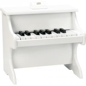 Vilac - 8374 - Piano Blanc 18 touches avec partitions (461890)
