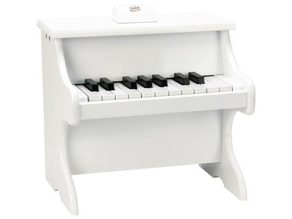 Piano blanc 18 touches avec partitions