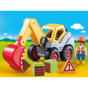 Playmobil - 70125 - Pelleteuse (462528)