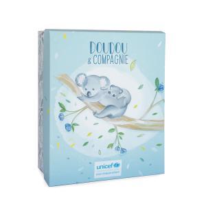 Doudou et compagnie - DC3791 - UNICEF BEBE & MOI - Koala 25 cm en boîte carton (463326)