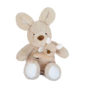 Doudou et compagnie - DC3793 - UNICEF BEBE & MOI - Kangourou 25 cm en boîte carton (463338)