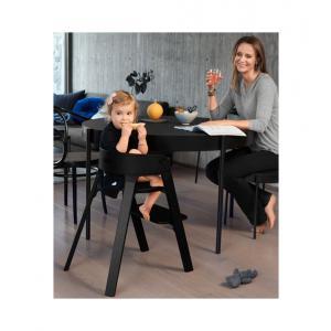 Stokke - 349706 - Chaise haute Steps hêtre noir-noir (463350)