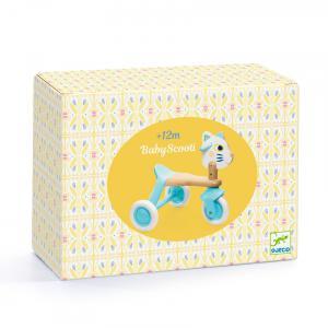 Djeco - DJ06133 - Baby blanc BabyScooti (463870)