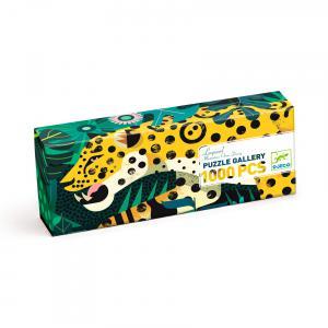 Djeco - DJ07645 - Puzzles Gallery Leopard - 1000 pcs (463972)