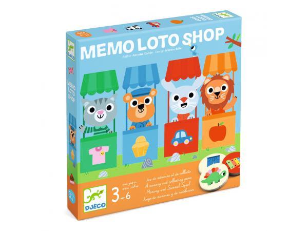 Jeux mémo loto shop