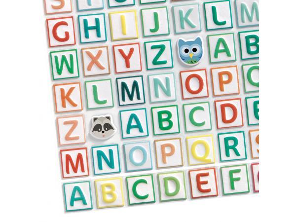 Stickers des petits gommettes alphabet
