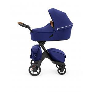 Stokke - BU396 - Poussette Xplory X , nacelle et sac à langer Royal Blue (464204)