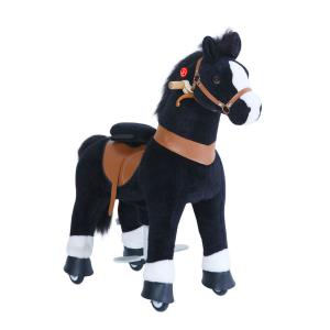 Ponycycle - Ux426 - Ponycycle Cheval à monter grand modèle sonore avec frein 84x40x97 cm - Age 4-9 ans (464870)