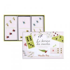 Moulin Roty - 712421 - Jeu de dominos des insectes Le Jardin du Moulin (465650)