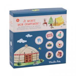 Moulin Roty - 712420 - Jeu Je monte mon campement Le Jardin du Moulin (465660)