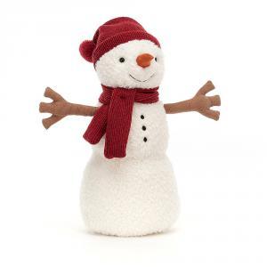 Jellycat - SWM2LT - Peluche Teddy bonhomme de neige - Large (465706)
