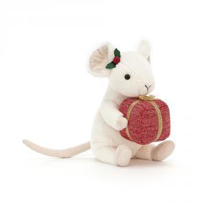 Jellycat - MER3P - Peluche souris de Noël cadeau (465736)