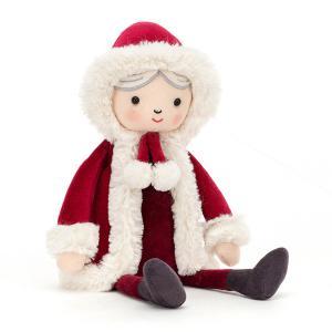Jellycat - MRS3CHR - Peluche mère Noël (465742)