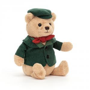 Jellycat - D2BR - Peluche ours à la Dickens (465760)