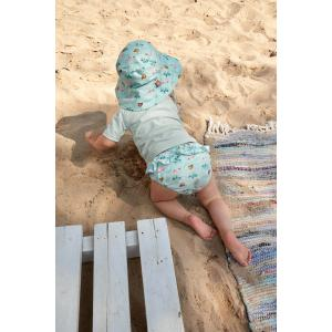 Lassig - 1431001557-18 - Maillot de bain couche fille caravane menthe 18 mois (465850)